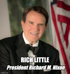 Rich Little as President Richard M. Nixon