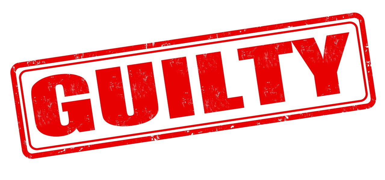 Guilty Richard Nixon