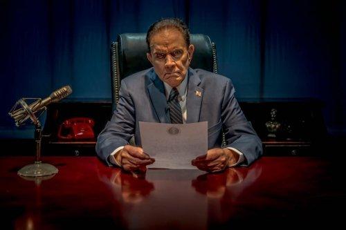 Rich Little starring as Richard Nixon Off-Broadway